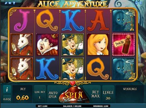 Alice Adventure slot free play demo