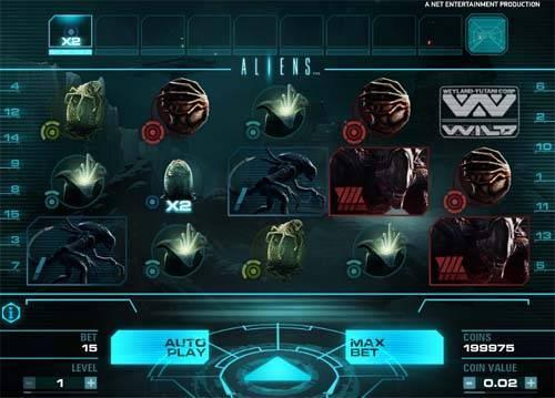 aliens slots free