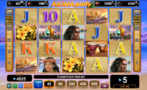 Free Aloha Party Slot Review (EGT) | CasinoGamesOnNet com