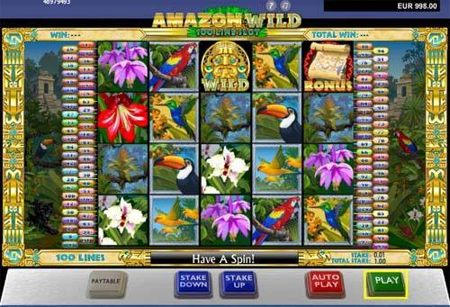 Amazon Wild slot free play demo