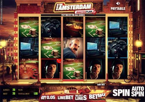 Amsterdam Masterplan slot free play demo is not available.