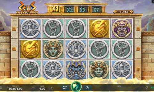 Ancient Fortunes Zeus slot