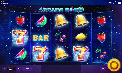 Arcade Bomb Videoslot Screenshot