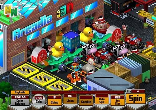 Arcadia i3D slot free play demo