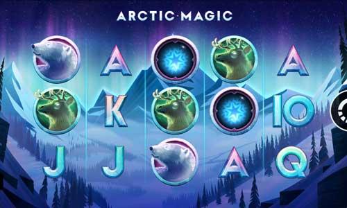 Arctic Magic Videoslot Screenshot
