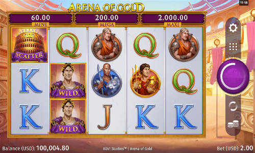 Arena of Gold slot