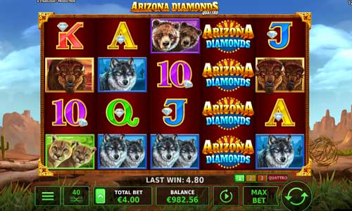 Arizona Diamonds Quattro slot