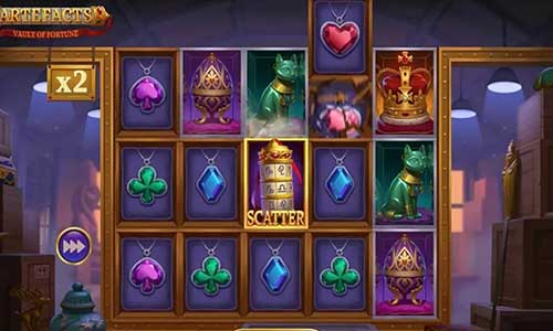 artefacts vault of fortune slot overview and summary