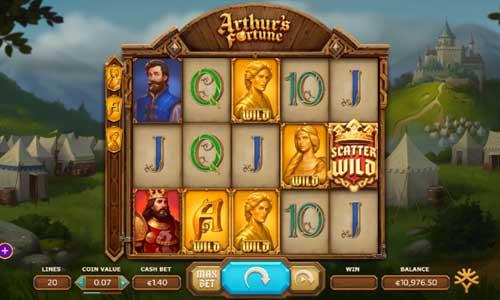 Arthurs Fortune slot