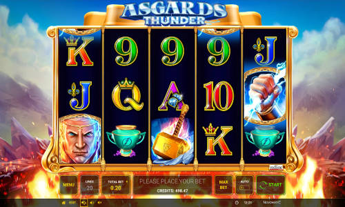 Asgards Thunder slot