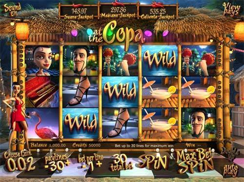At the Copa slot free play demo