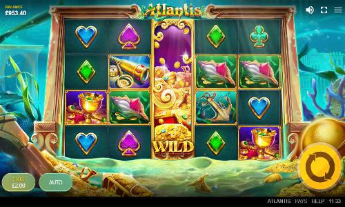 Atlantis Videoslot Screenshot