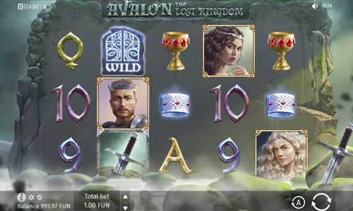 Avalon The Lost Kingdom slot