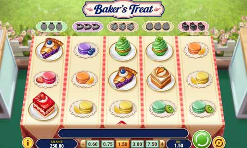 Bakers Treat Videoslot Screenshot