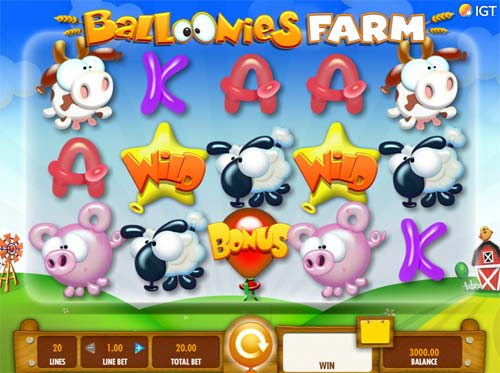Balloonies Farm slot