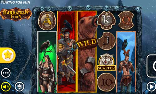 barbarian fury slot review