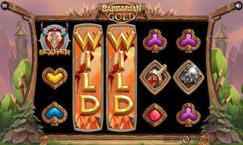 Barbarian Gold Videoslot Screenshot