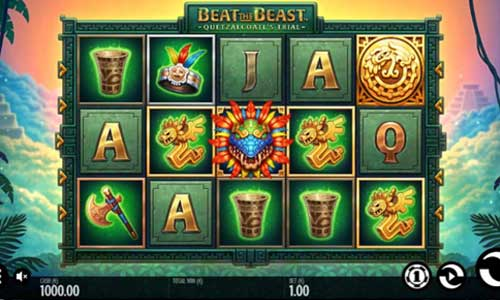 beat the beast quetzalcoatls trial slot overview and summary