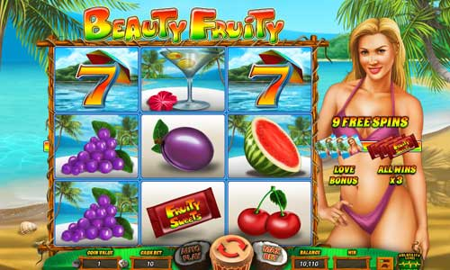 Beauty Fruity slot