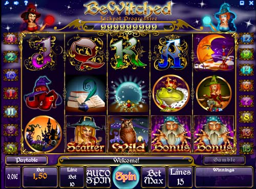 Bewitched slot free play demo