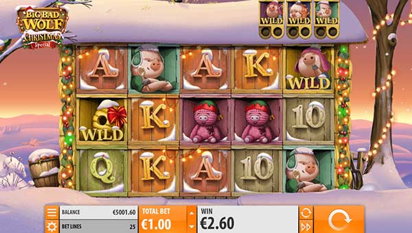 big bad wolf christmas slot overview and summary