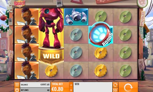 Big Bot Crew Videoslot Screenshot