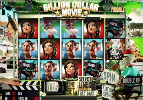 Billion Dollar Movie slot