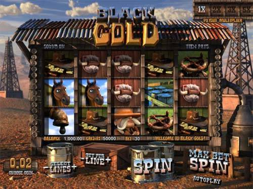 Black Gold slot free play demo