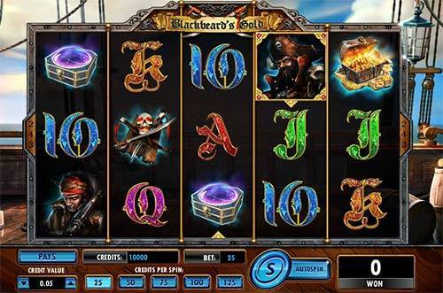 Blackbeards Gold slot