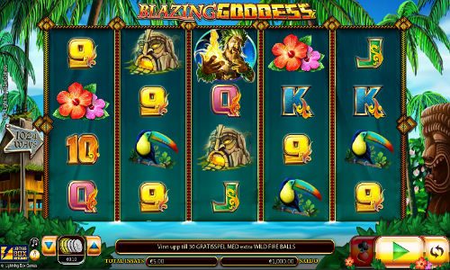 Blazing Goddess slot