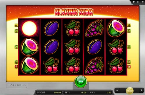 blazing star casino game