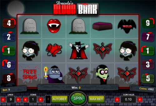 Blood Bank slot