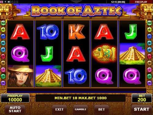 Book of Aztec slot Amatic