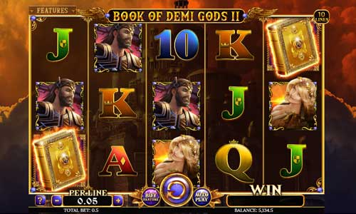 Book Of Demi Gods II slot