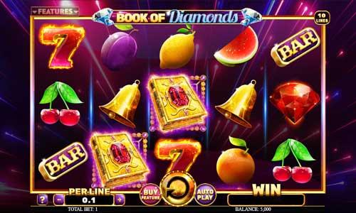 Book of Diamonds Videoslot Screenshot