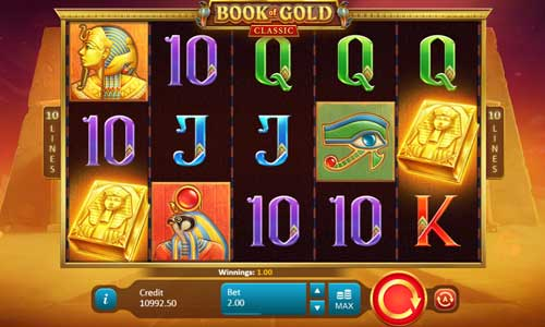 Book of Gold Classic slot Playson