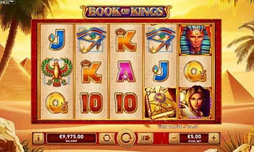 Book of Kings Videoslot Screenshot