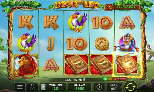 Book of Leo Quattro slot