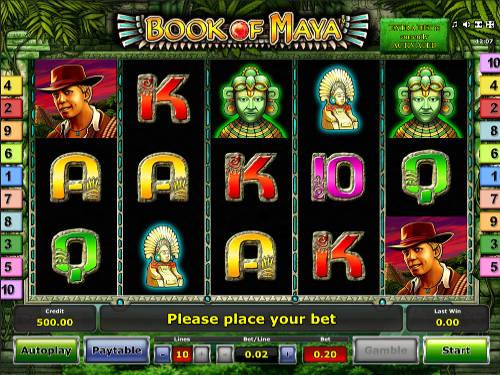 Book of Maya slot free play demo