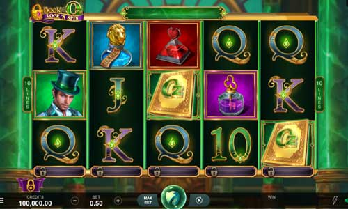 Book of Oz Lock N Spin Videoslot Screenshot