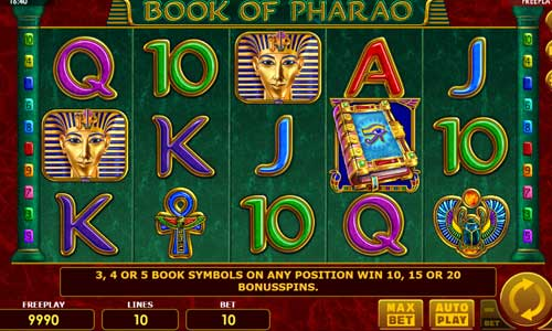 Book of Pharao slot Amatic
