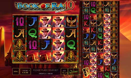 Book of Ra Deluxe 10 slot