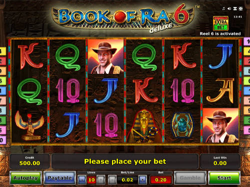 Book of Ra Deluxe 6 slot