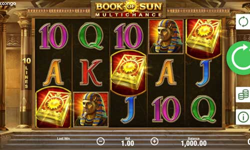 book of sun multichance slot screen - Book of Sun Multichance Slot Game