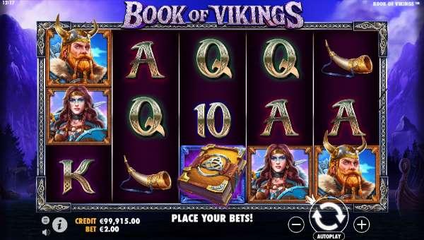 Book of Vikings Videoslot Screenshot