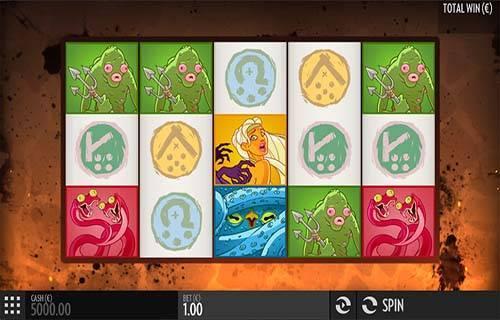 Bork The Berzerker Videoslot Screenshot