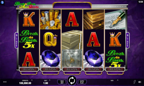 Break da Bank Again Respin slot