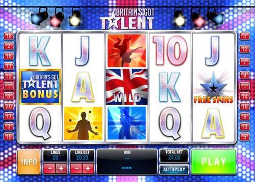 Britains Got Talent slot