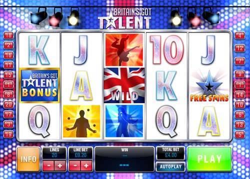 Britains Got Talent slot