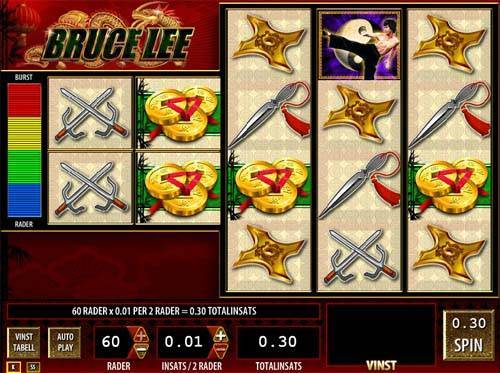 Bruce Lee slot free play demo